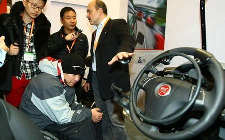 Fiat presents its destiny in Beijing technology to disabled persons
