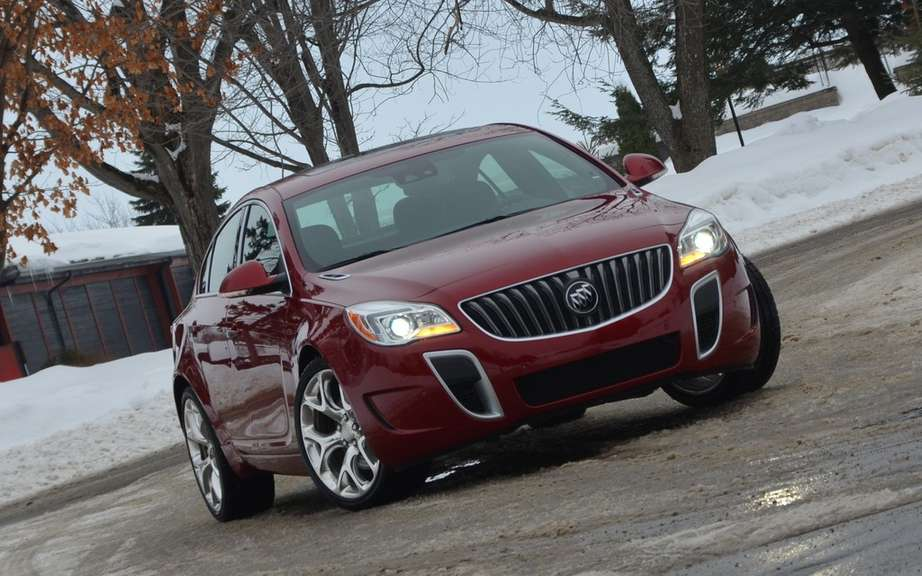 Buick Regal 2014 Transmission integrale all seasons