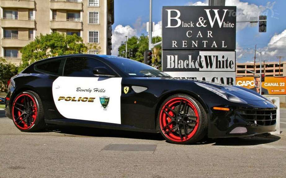 Ferrari FF to promote Beverly Hills