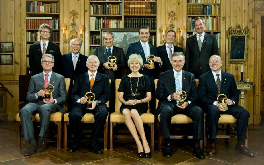 2012 Golden Steering: German bagnoles remain preferees