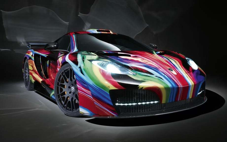 Hamann Memor: the McLaren MP4-12C multicolor