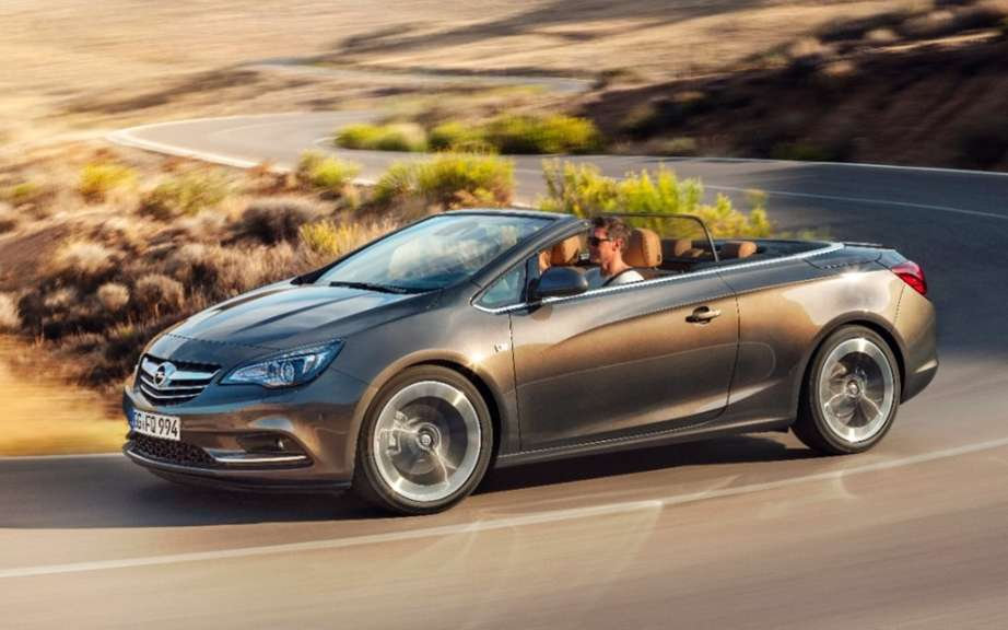 Opel Cascada: a convertible medium glamorous and athletic