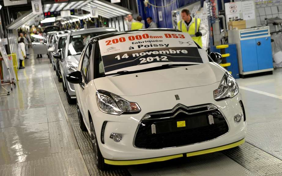 Citroen DS3: already 200,000 copies produced in France picture #2