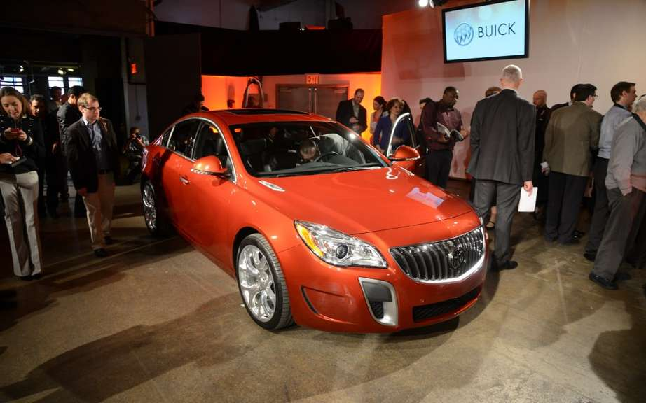 Buick Regal 2014 Transmission integrale all seasons picture #4