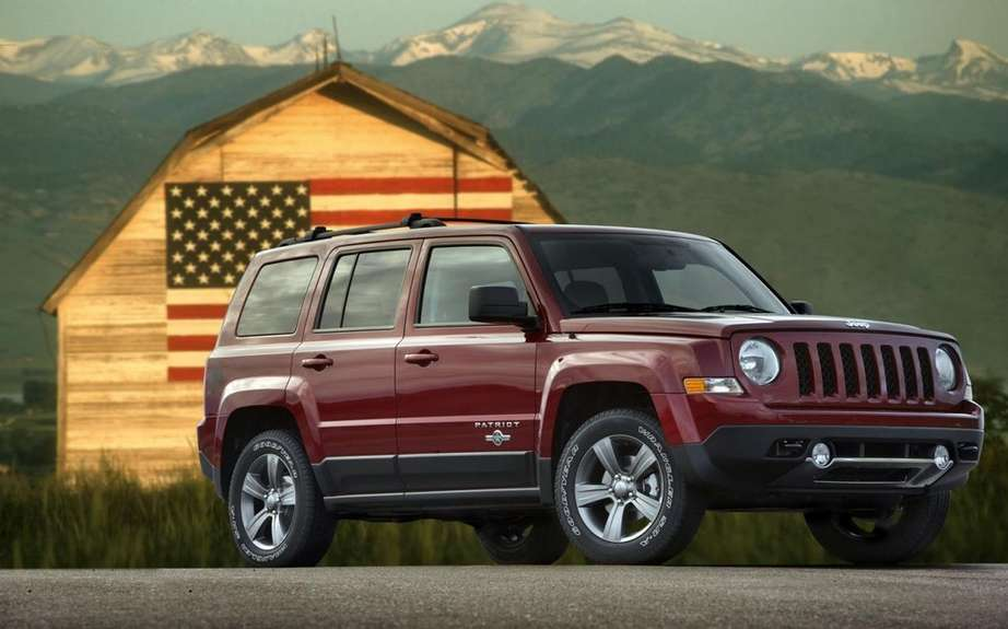 Jeep Patriot Freedom Edition: a tribute to American military