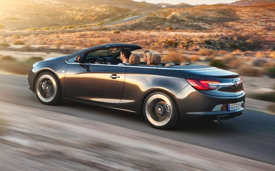 Opel Cascada: a convertible medium glamorous and athletic picture #2