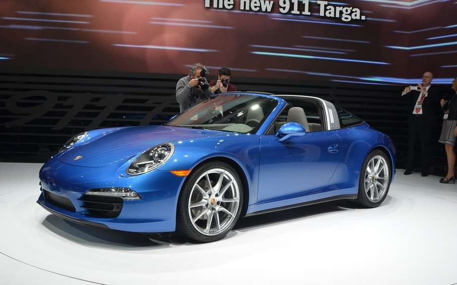 Porsche 911 Targa 2014: back to basics