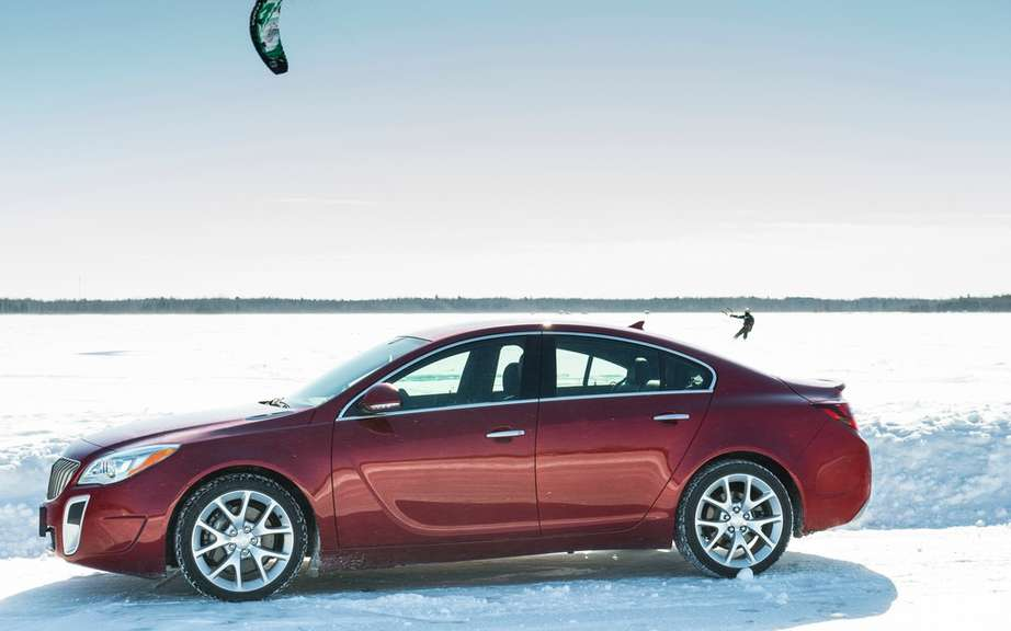Buick Regal 2014 Transmission integrale all seasons picture #5