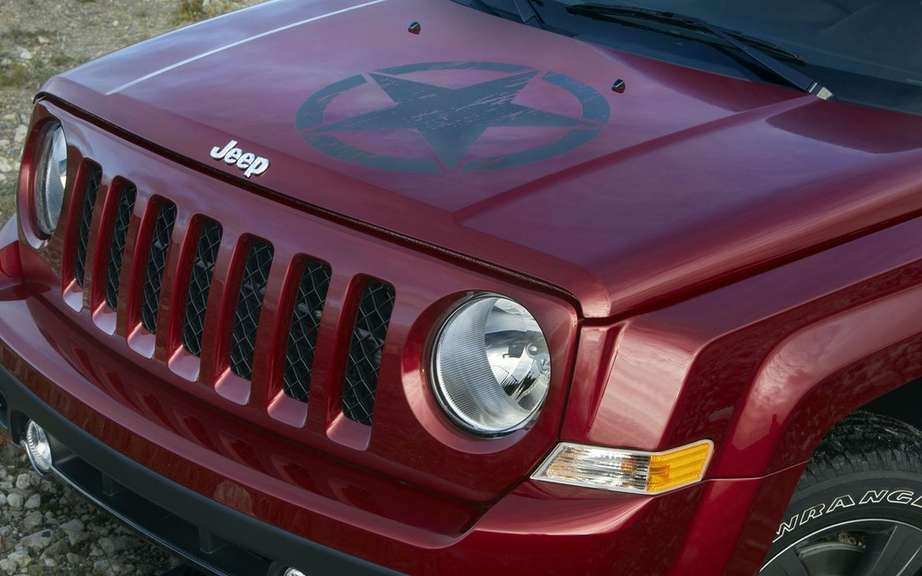 Jeep Patriot Freedom Edition: a tribute to American military picture #2