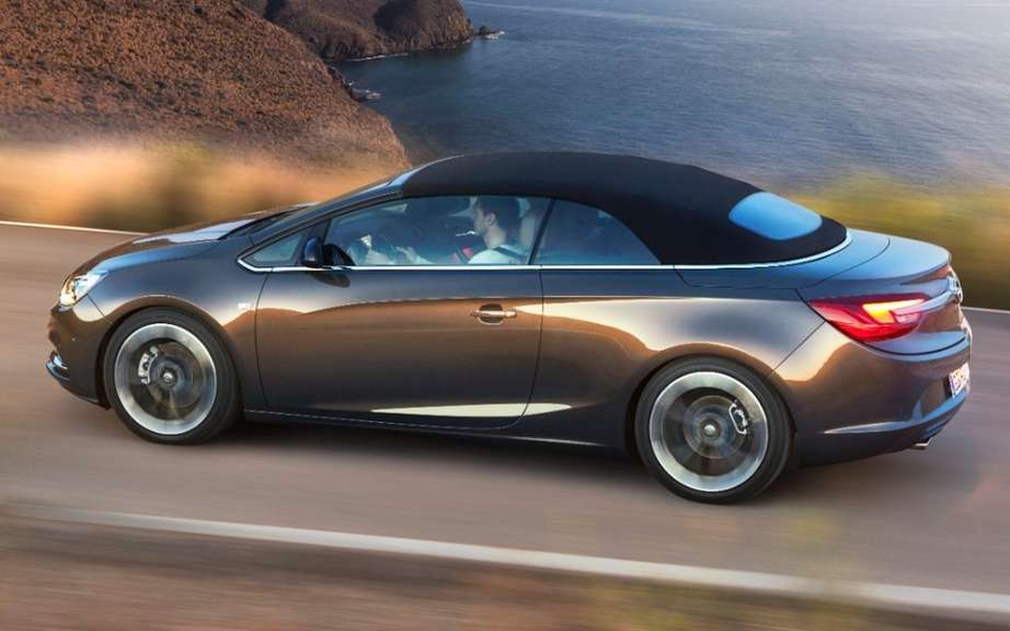 Opel Cascada: a convertible medium glamorous and athletic picture #3