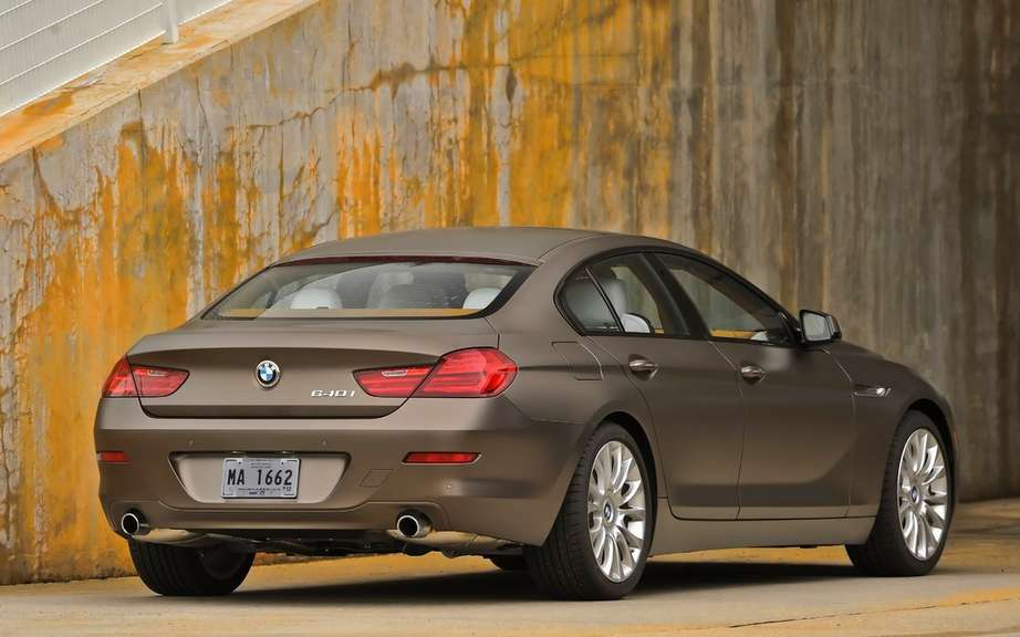 BMW M6 Gran Coupe: A surprise is not a picture #2