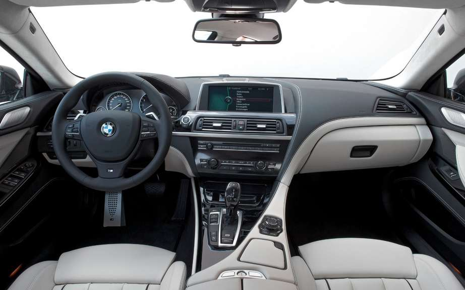 BMW M6 Gran Coupe: A surprise is not a picture #4