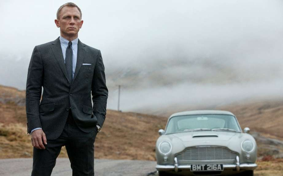 Skyfall: or the return of the Aston Martin DB5