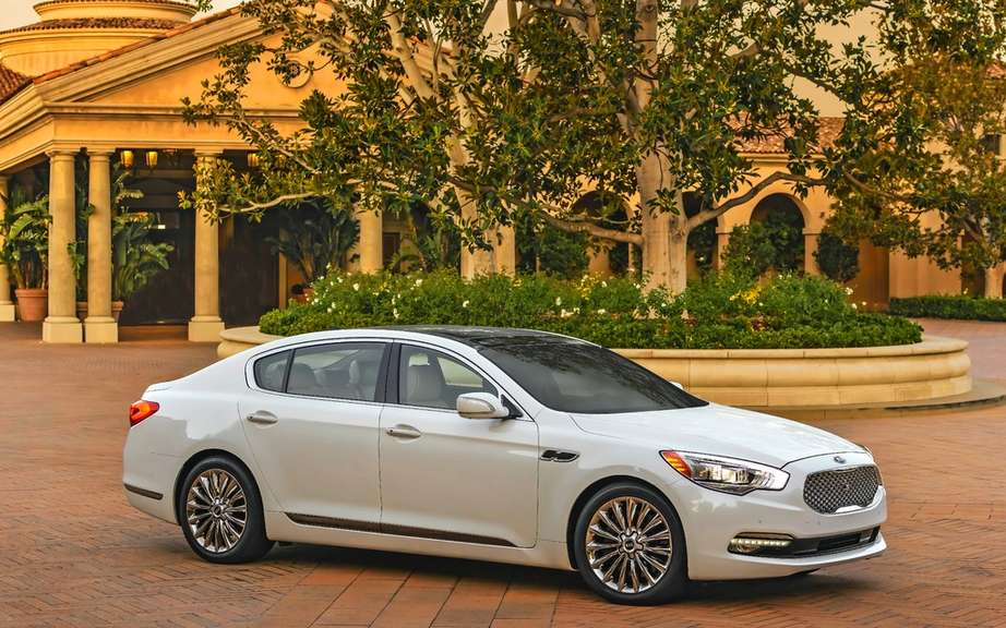 Kia K900: A coreenne in the big leagues picture #3