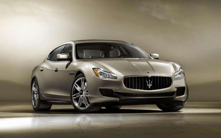 Maserati Quattroporte 2013: First official photos