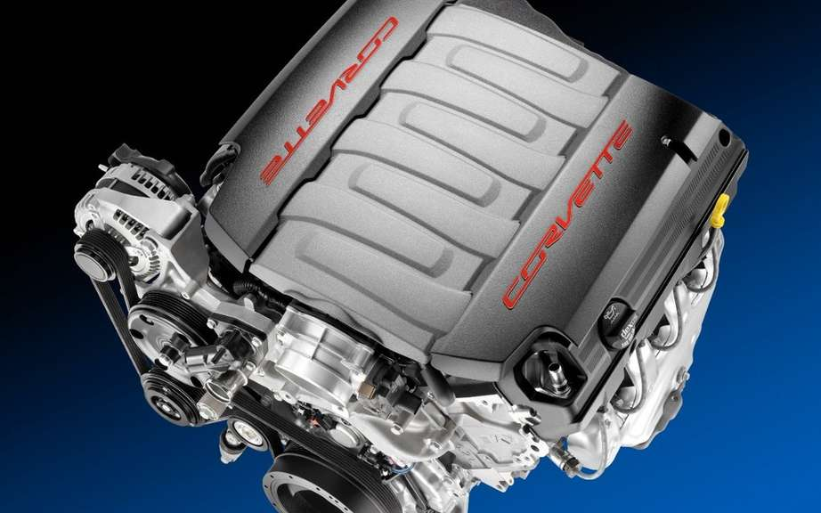 Chevrolet and the new 6.2-liter V8 for the Corvette in 2014