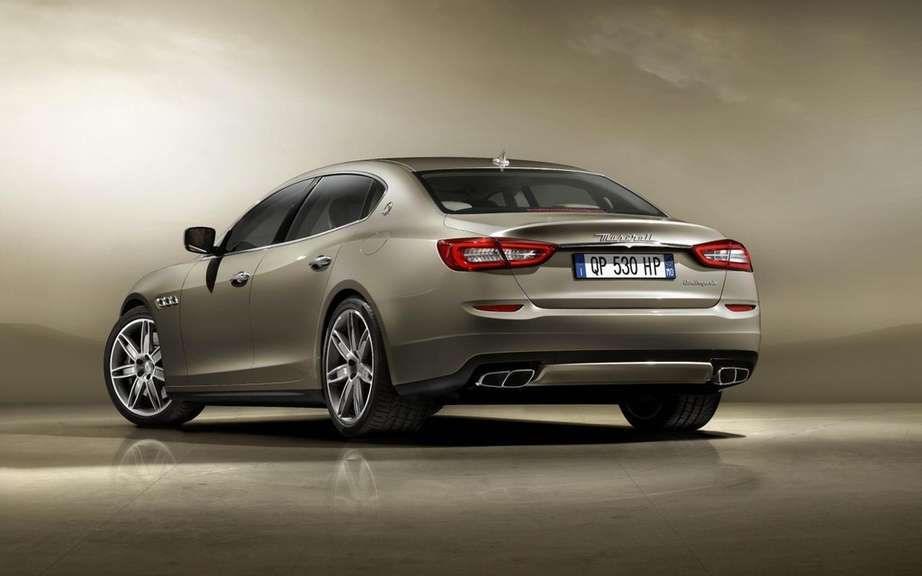 Maserati Quattroporte 2013: First official photos picture #2
