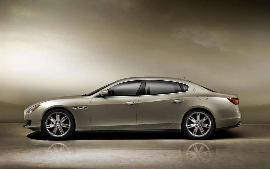 Maserati Quattroporte 2013: First official photos picture #3