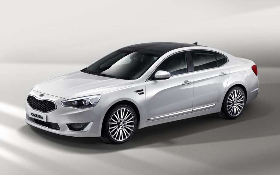 Kia Cadenza 2014 a new version for next spring