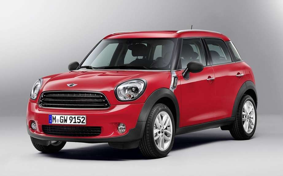 Mini Countryman 2013: 4 to 5 passengers