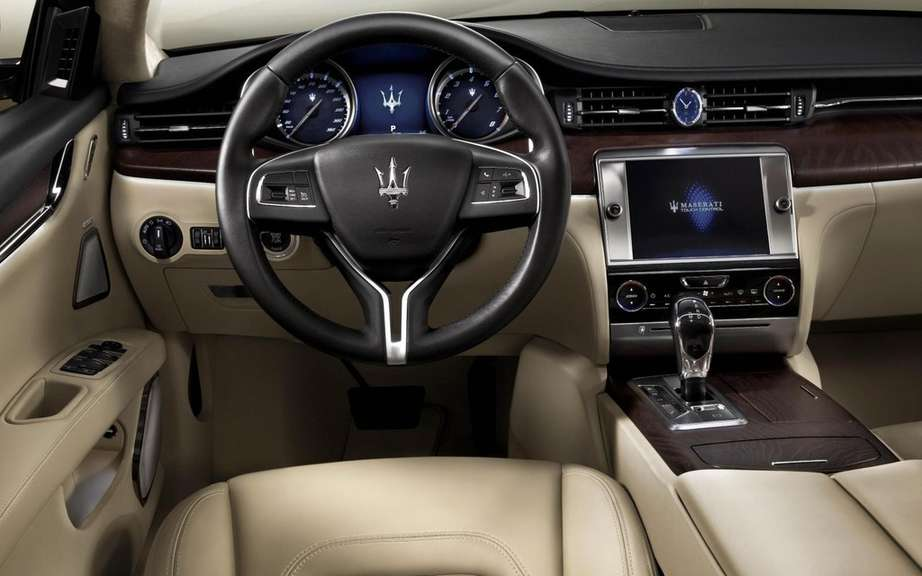 Maserati Quattroporte 2013: First official photos picture #6
