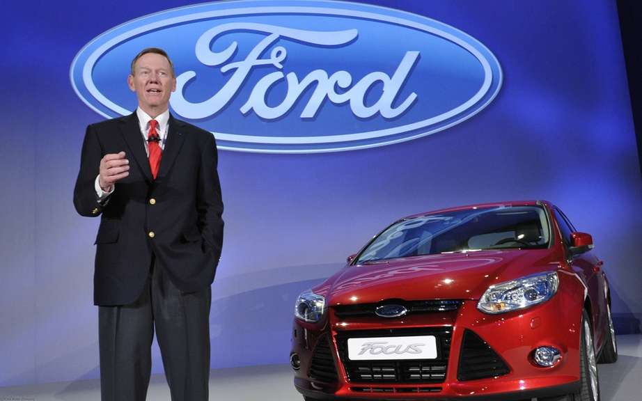Ford boss Alan Mulally, remains in office