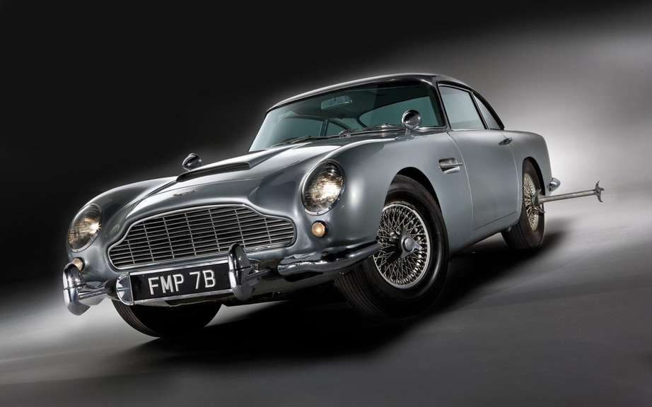 Aston Martin DB5 1964 Sir James Bond: Sold $ 4.6 million
