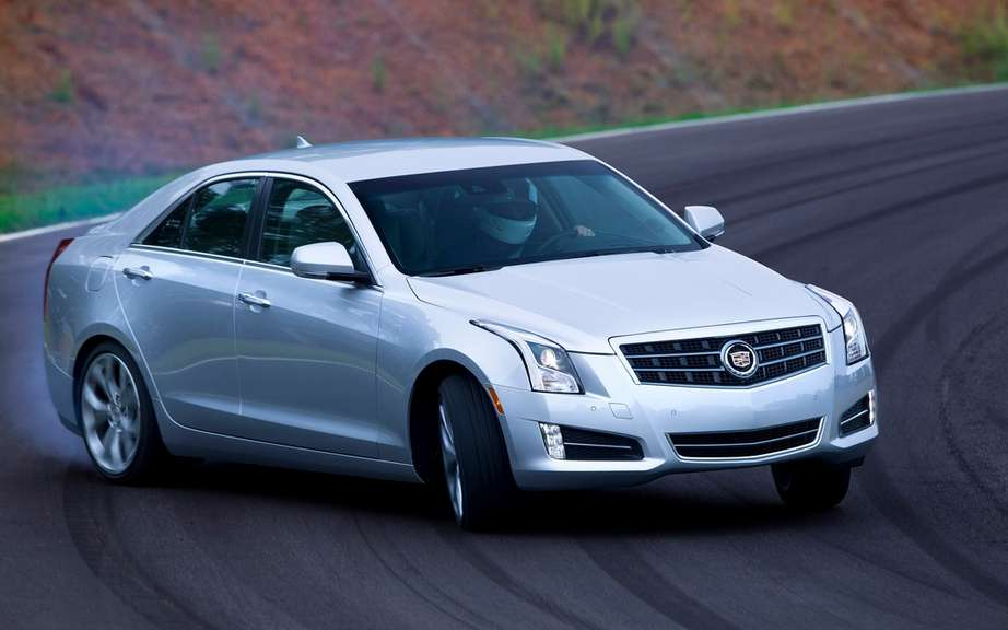2013 Cadillac ATS: Appointee car of the year 2012 according to Esquire