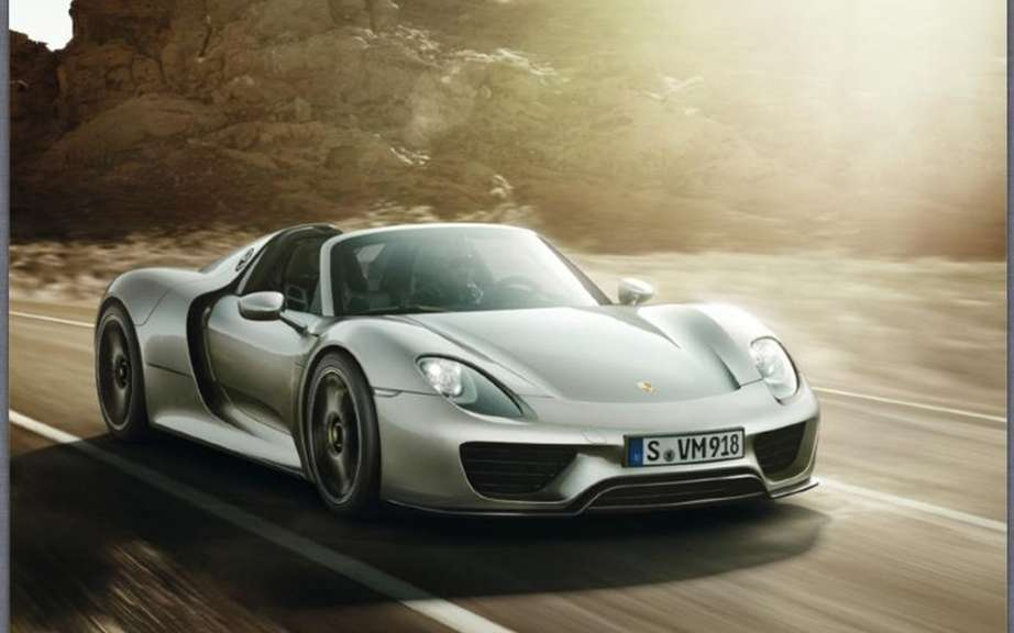 Porsche 918 Spyder: The brochure can be found on the Net