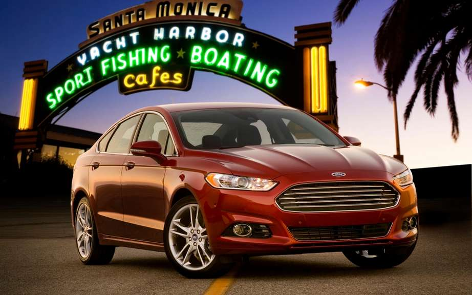 Ford Canada announces pricing for its 2013 Fusion models