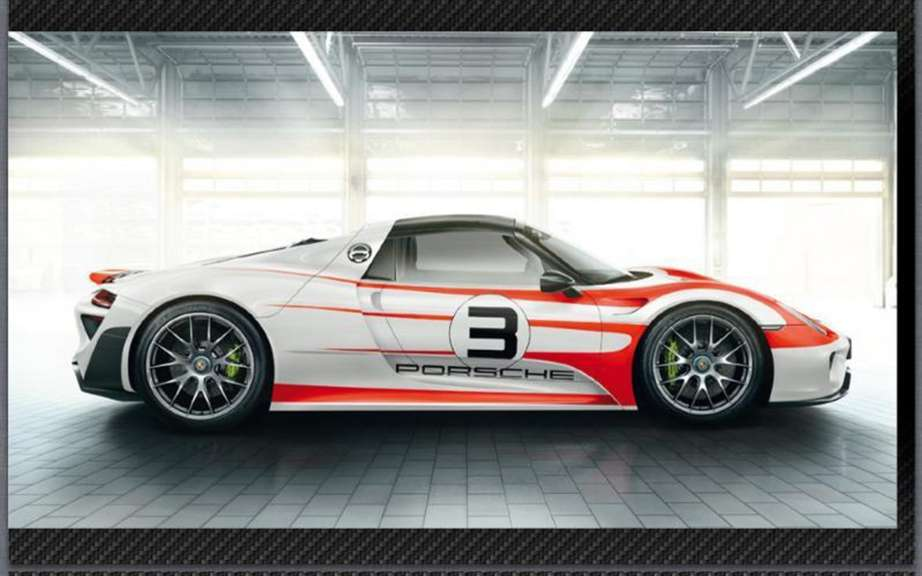Porsche 918 Spyder: The brochure can be found on the Net picture #3