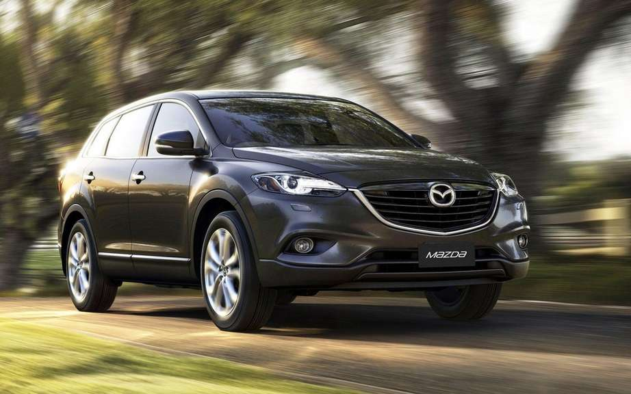 Mazda CX-9 2013: a simple exercise picture #1