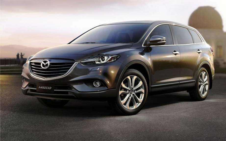 Mazda CX-9 2013: a simple exercise picture #2