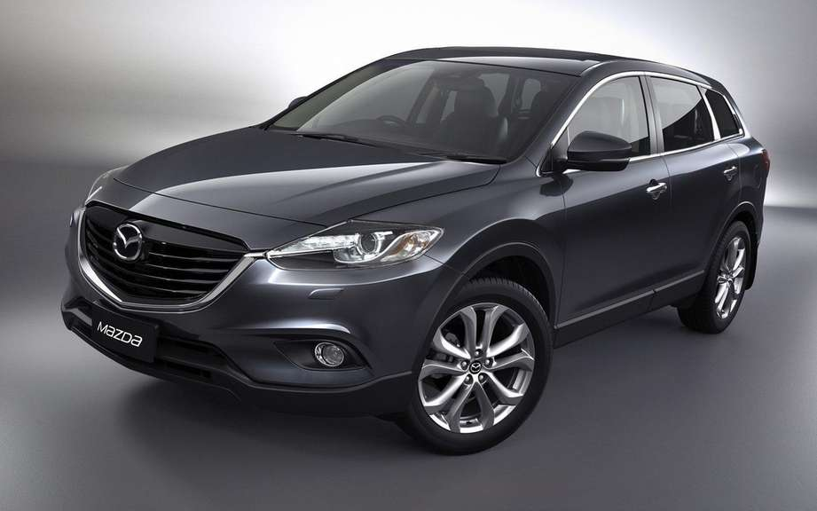 Mazda CX-9 2013: a simple exercise picture #3