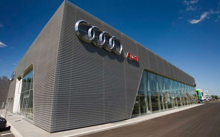 Lauzon in Laval Group opens largest Audi Terminal in America