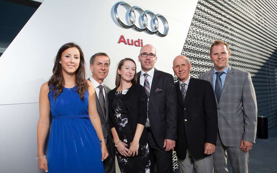 Lauzon in Laval Group opens largest Audi Terminal in America picture #2