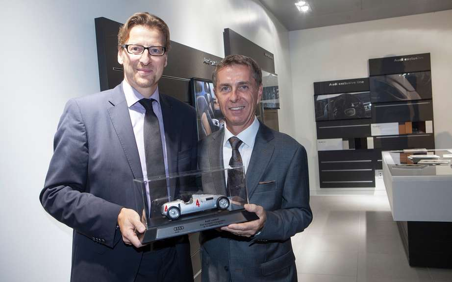 Lauzon in Laval Group opens largest Audi Terminal in America picture #3