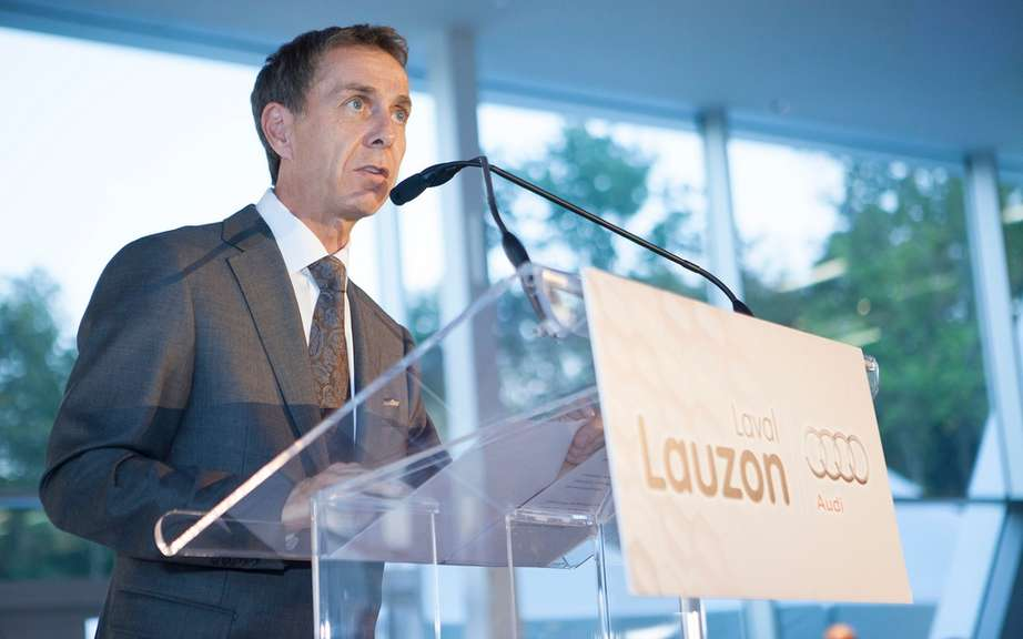 Lauzon in Laval Group opens largest Audi Terminal in America picture #4