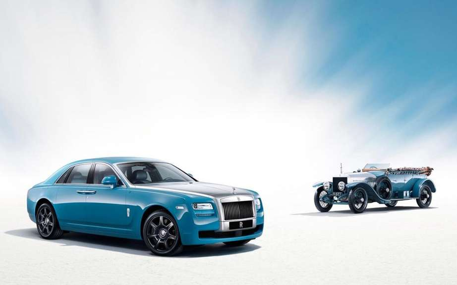 Rolls Royce Ghost Qatar Edition One-Off: The power of black gold