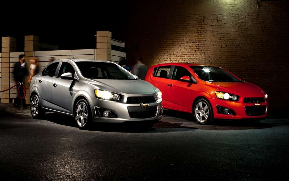 Chevrolet Sonic 2013: Recall of 120 models in Canada
