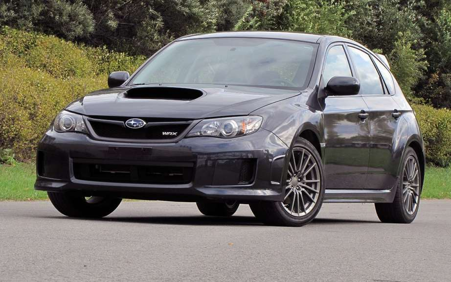 Subaru WRX STI tS Type RA reserved to the Japanese market