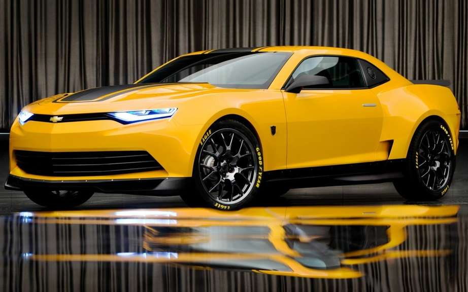 2014 Camaro Concept Bumblebee in the movie Transformers 4 picture #2