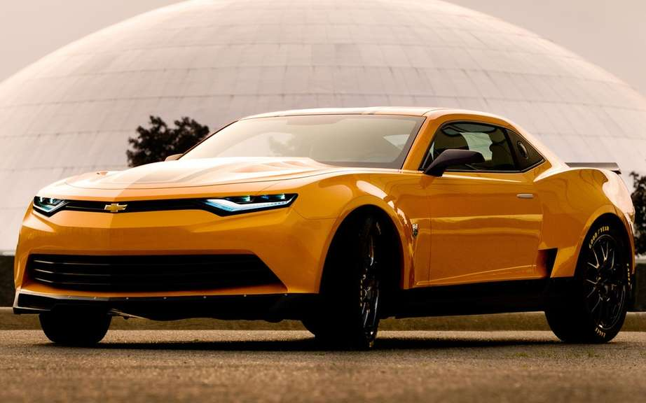 2014 Camaro Concept Bumblebee in the movie Transformers 4 picture #3