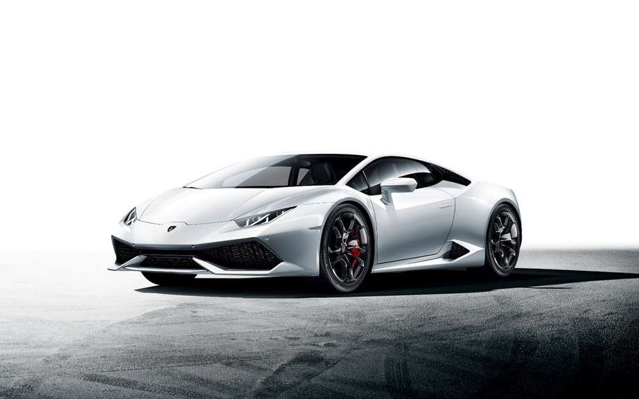 Lamborghini launches the browser of the Huracan LP 610-4 picture #8