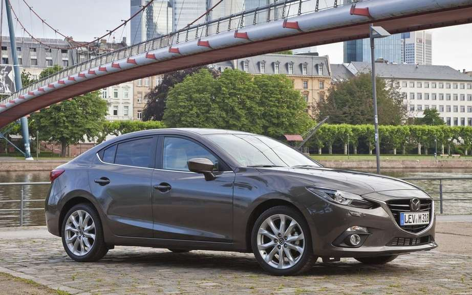 Mazda3 sedan 2014 always more pictures on the Net picture #8
