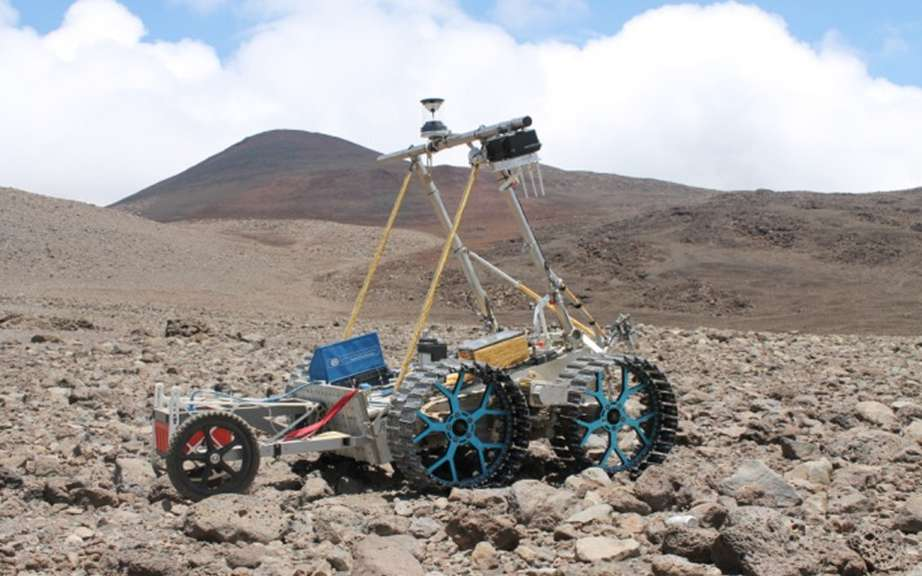 "The Canadian Space Agency unveiled its ""rovers"" picture #2"