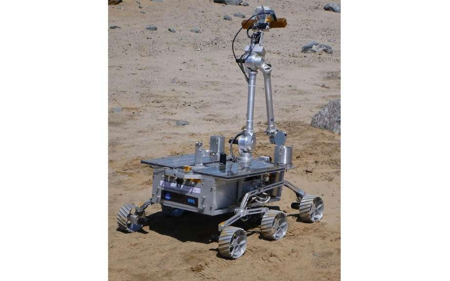 "The Canadian Space Agency unveiled its ""rovers"" picture #3"