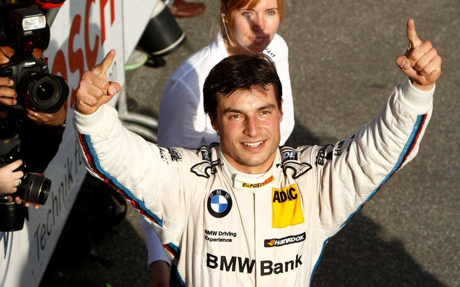 Bruno Spengler and BMW DTM Champion 2012!