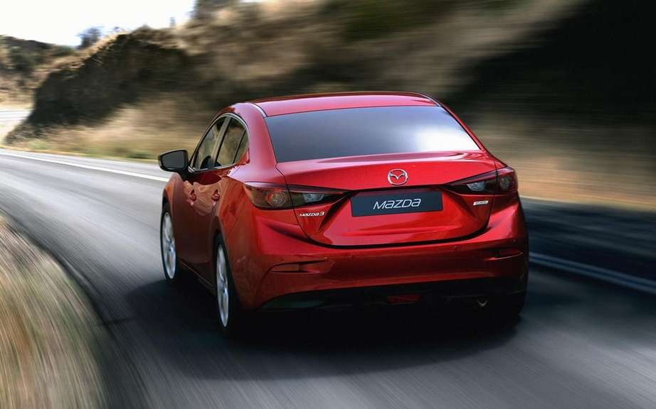 Mazda3 sedan 2014 always more pictures on the Net picture #11