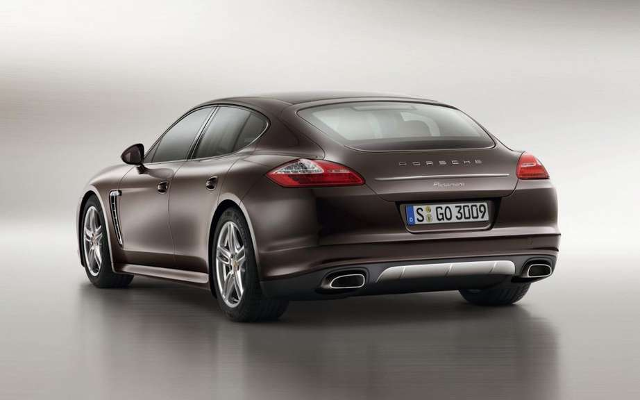 Porsche Panamera Platinum Edition: she is aptly named picture #2